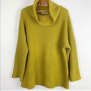Vintage Margaret winter NY cotton cowlneck sweater